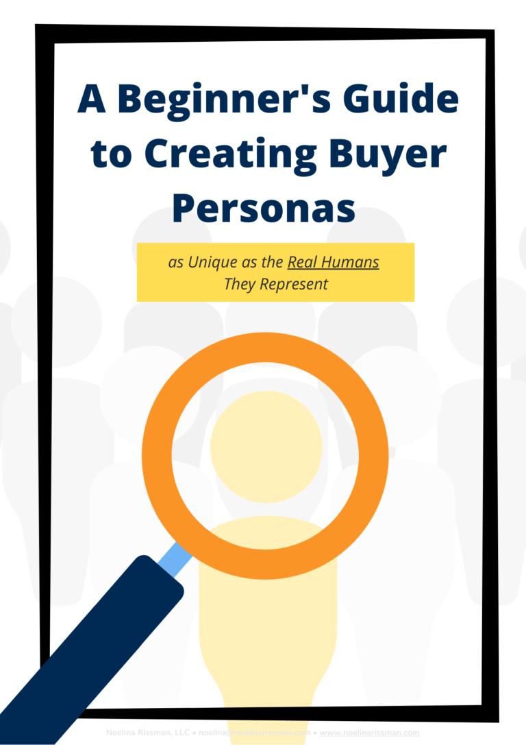 Beginner's Guide Buyer Personas